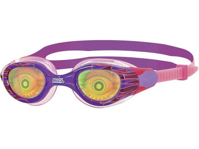 Zoggs Sea Demon Junior Svømmebriller Børn, purple/pink